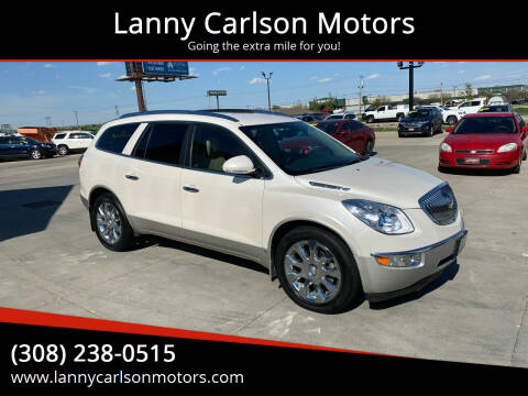 2010 Buick Enclave for sale at Lanny Carlson Motors in Kearney NE