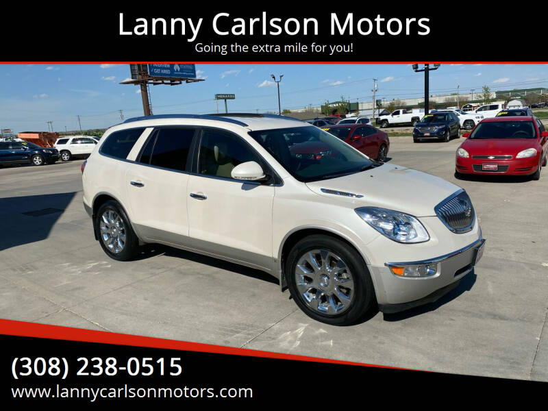 2010 Buick Enclave for sale at Lanny Carlson Motors in Kearney NE