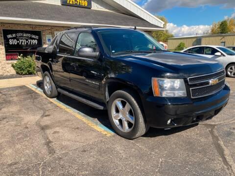 2011 Chevrolet Avalanche for sale at Imlay City Auto Sales LLC. in Imlay City MI