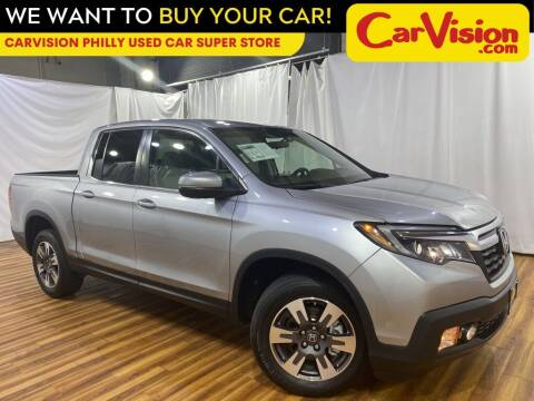 2017 Honda Ridgeline for sale at Car Vision Mitsubishi Norristown - Car Vision Philly Used Car SuperStore in Philadelphia PA