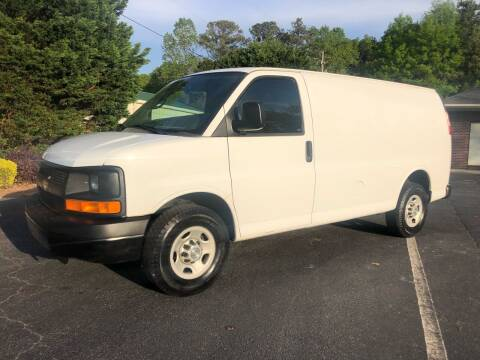 2010 Chevrolet Express Cargo for sale at GTO United Auto Sales LLC in Lawrenceville GA