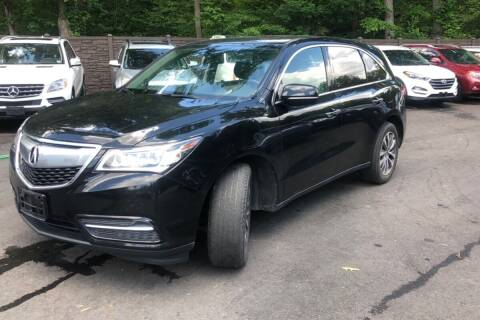 2015 Acura MDX for sale at TRANS P in East Windsor CT