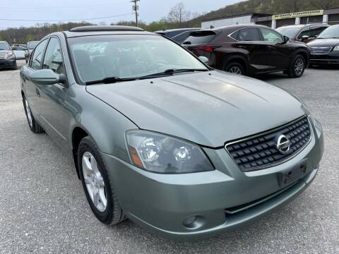 2005 Nissan Altima for sale at Ron Motor Inc. in Wantage NJ