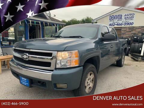 2008 Chevrolet Silverado 1500 for sale at Denver Auto Sales in Lincoln NE