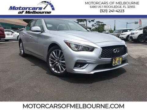 2020 Infiniti Q50 for sale at Motorcars of Melbourne in Rockledge FL