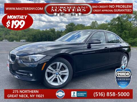 2017 BMW 3 Series for sale at European Masters in Great Neck NY