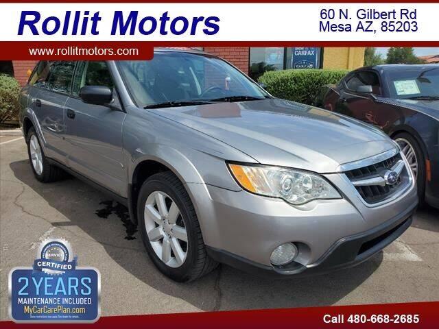2008 Subaru Outback for sale at Rollit Motors in Mesa AZ