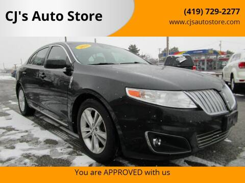 2010 Lincoln MKS for sale at CJ's Auto Store in Toledo OH