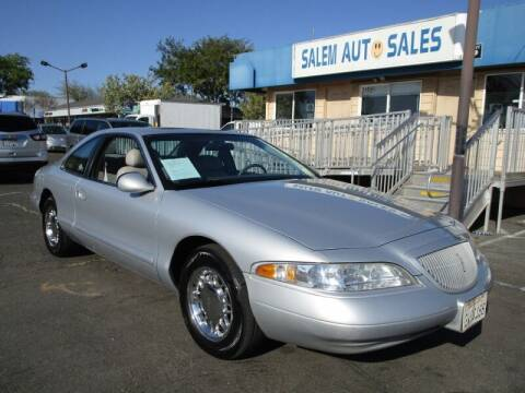 1997 Lincoln Mark VIII for sale at Salem Auto Sales in Sacramento CA