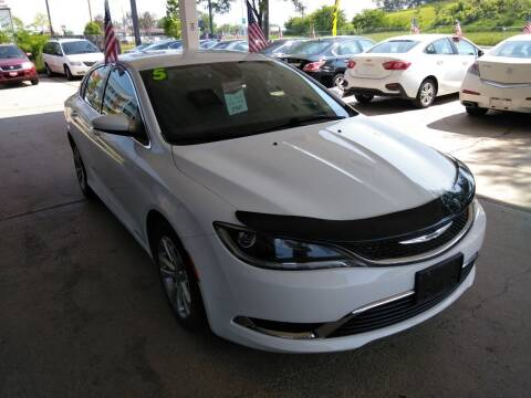 2015 Chrysler 200 for sale at Divine Auto Sales LLC in Omaha NE