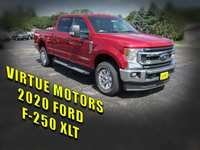 2020 Ford F-250 Super Duty for sale at Virtue Motors in Darlington WI