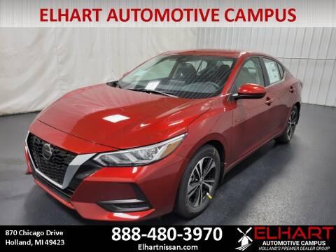 2021 Nissan Sentra for sale at Elhart Automotive Campus in Holland MI