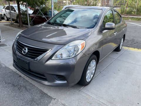 2013 Nissan Versa for sale at Gallery Auto Sales in Bronx NY