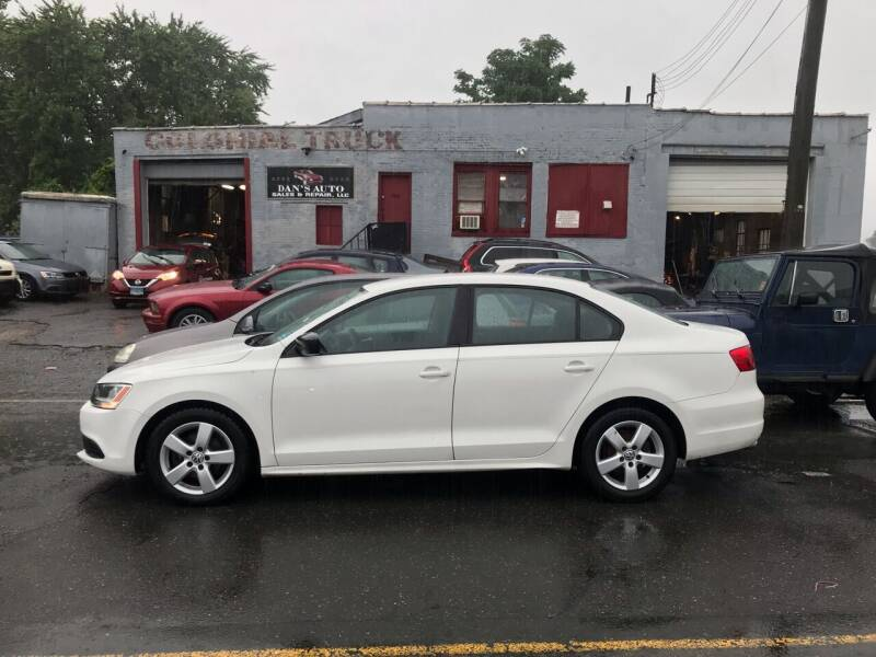 2011 Volkswagen Jetta for sale at Dan's Auto Sales and Repair LLC in East Hartford CT