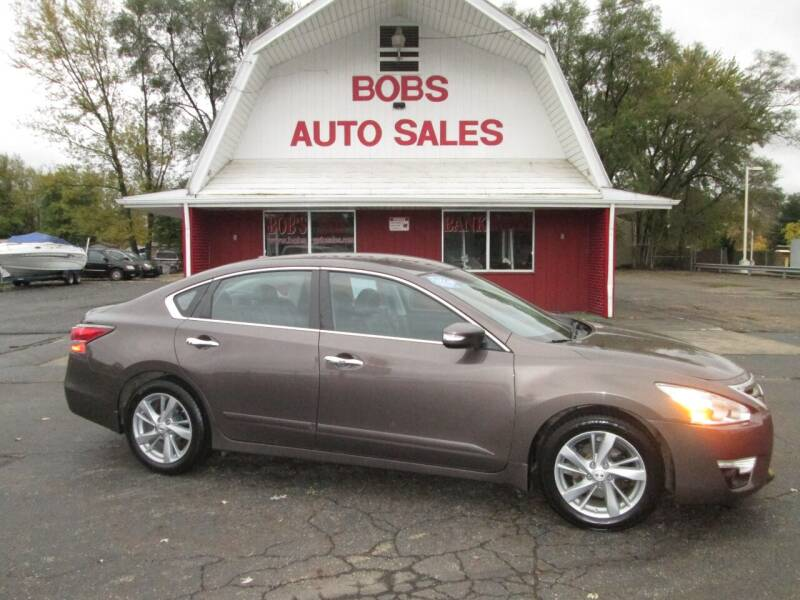 2015 Nissan Altima for sale at Bob's Auto Sales in Canton OH