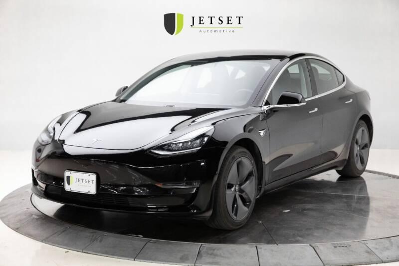 2018 Tesla Model 3 for sale at Jetset Automotive - Electric Cars in Cedar Rapids IA