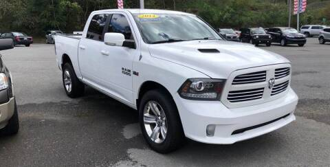 2013 RAM Ram Pickup 1500 for sale at Bailey Brand in Clarksburg WV