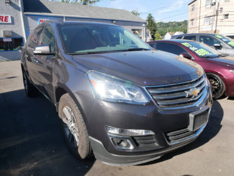 2017 Chevrolet Traverse for sale at M & R Auto Sales INC. in North Plainfield NJ
