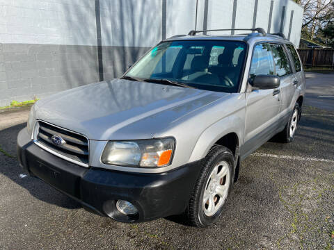 2005 Subaru Forester for sale at APX Auto Brokers in Lynnwood WA