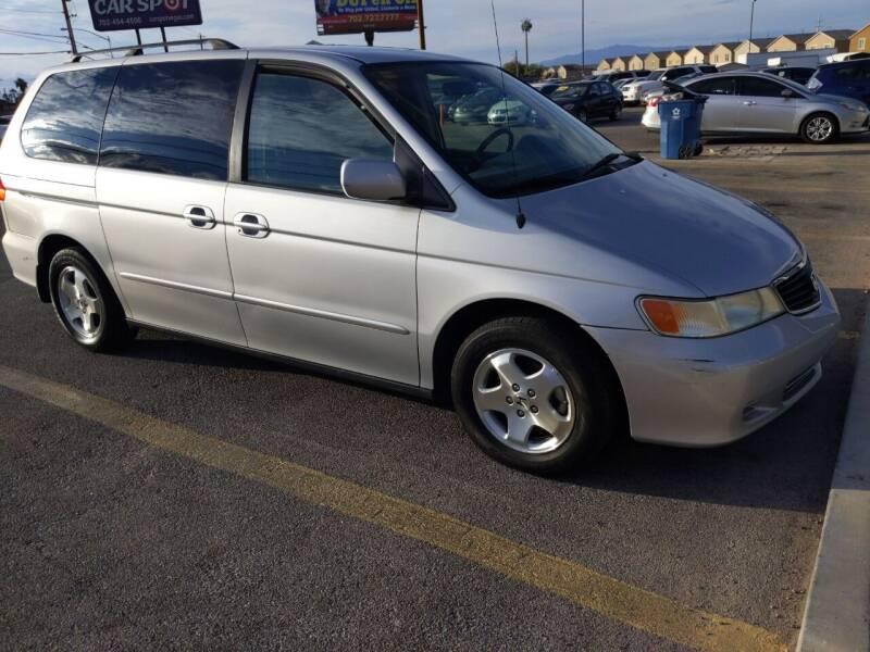 2001 Honda Odyssey for sale at Car Spot in Las Vegas NV