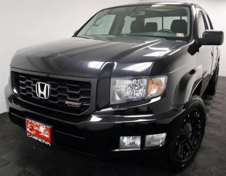 2013 Honda Ridgeline for sale at CarNova in Stafford VA