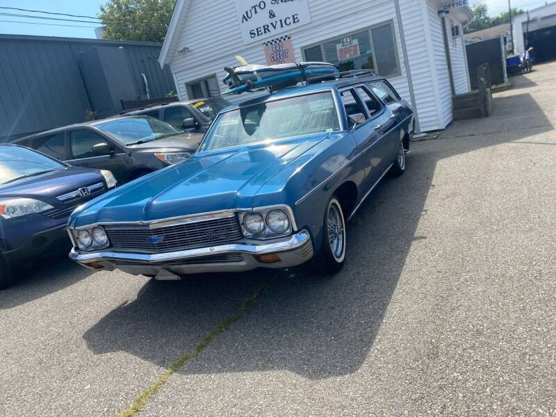 1970 Chevy Kingswood for sale at Bob Luongo's Auto Sales in Fall River MA