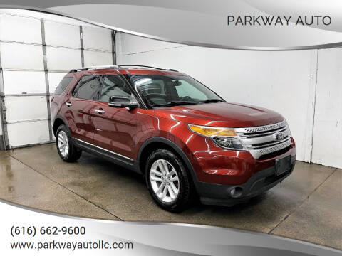 2014 Ford Explorer for sale at PARKWAY AUTO in Hudsonville MI