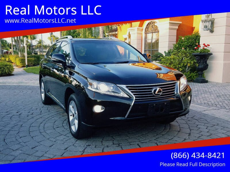 2013 Lexus RX 350 for sale at Real Motors LLC in Clearwater FL