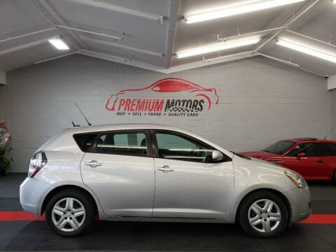 2010 Pontiac Vibe for sale at Premium Motors in Villa Park IL