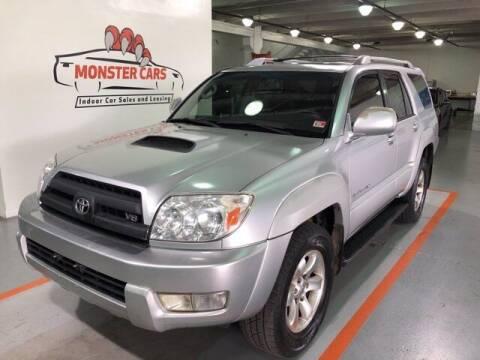 2004 Toyota 4Runner for sale at Monster Cars in Pompano Beach FL
