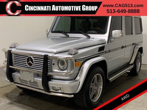 2008 Mercedes-Benz G-Class for sale at Cincinnati Automotive Group in Lebanon OH