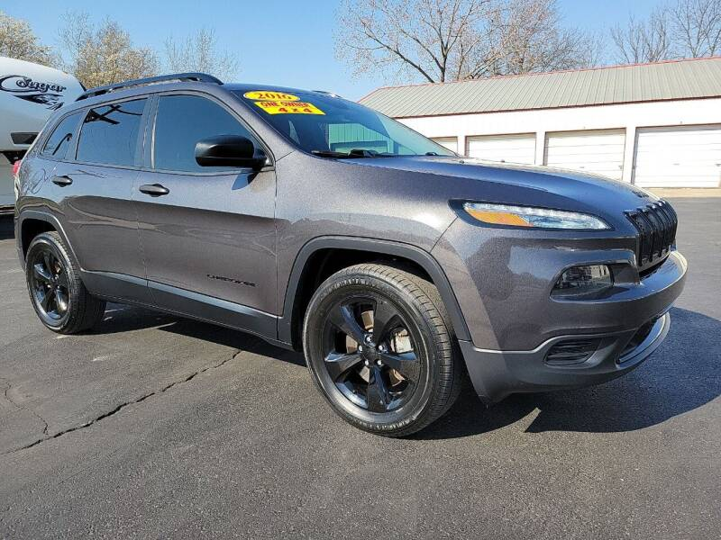 2016 Jeep Cherokee for sale at Holland's Auto Sales in Harrisonville MO