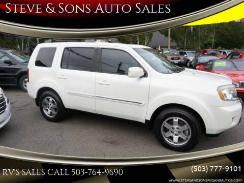 2011 Honda Pilot for sale at Steve & Sons Auto Sales in Happy Valley OR