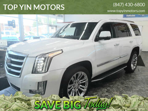 2016 Cadillac Escalade for sale at TOP YIN MOTORS in Mount Prospect IL