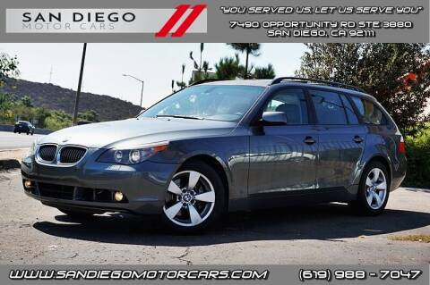 2007 BMW 5 Series for sale at San Diego Motor Cars LLC in San Diego CA
