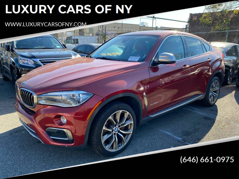 2015 BMW X6 for sale at LUXURY CARS OF NY in Queens NY