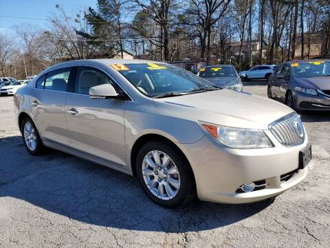 2012 Buick LaCrosse for sale at Import Plus Auto Sales in Norcross GA