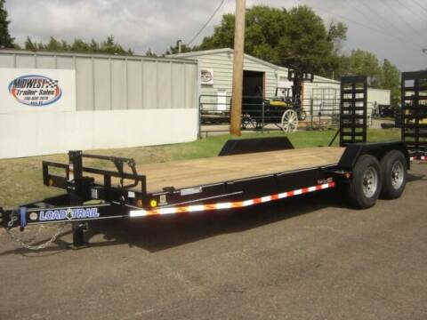 2022 83 X 22 LOAD TRAIL HD HAULER for sale at Midwest Trailer Sales & Service in Agra KS