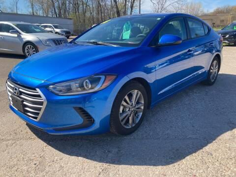 2018 Hyundai Elantra for sale at SUNSET CURVE AUTO PARTS INC in Weyauwega WI
