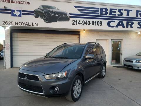 2010 Mitsubishi Outlander for sale at Best Royal Car Sales in Dallas TX