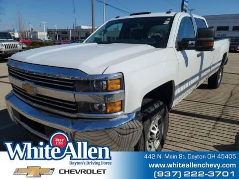 2018 Chevrolet Silverado 2500HD for sale at WHITE-ALLEN CHEVROLET in Dayton OH