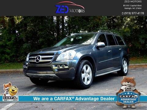 2010 Mercedes-Benz GL-Class for sale at Zed Motors in Raleigh NC