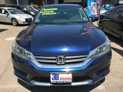 2014 Honda Accord for sale at 3B Auto Center in Modesto CA