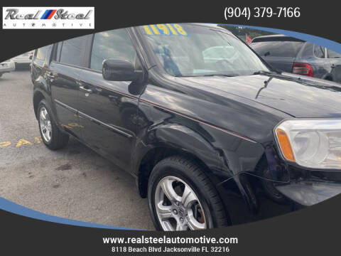 2012 Honda Pilot for sale at Real Steel Automotive in Jacksonville FL