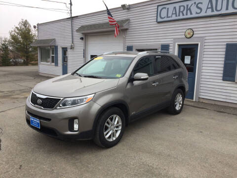 2014 Kia Sorento for sale at CLARKS AUTO SALES INC in Houlton ME