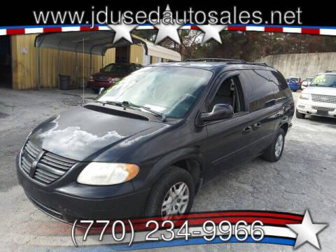 2005 Dodge Grand Caravan for sale at J D USED AUTO SALES INC in Doraville GA
