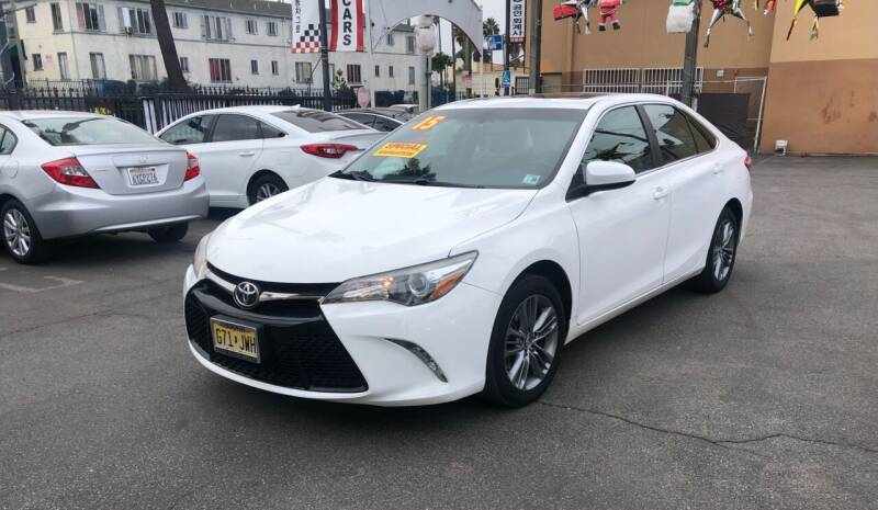 2015 Toyota Camry for sale at Eden Motor Group in Los Angeles CA
