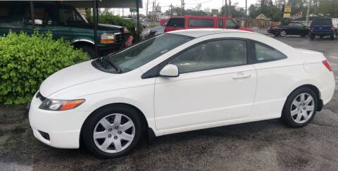 2006 Honda Civic for sale at BELL AUTO & TRUCK SALES in Fort Wayne IN