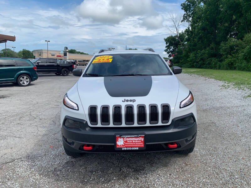 2015 Jeep Cherokee for sale at Community Auto Brokers in Crown Point IN