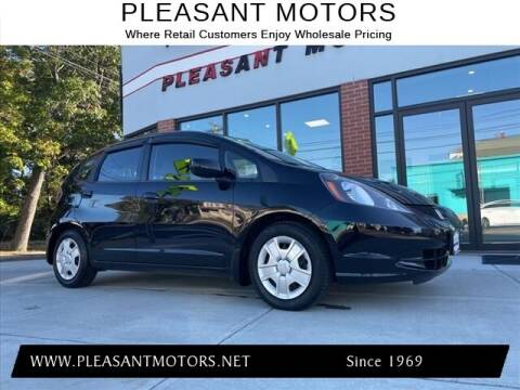 2013 Honda Fit for sale at Pleasant Motors in New Bedford MA
